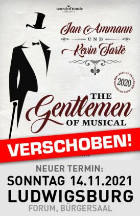 Jan Ammann und Kevin Tarte - The Gentlemen of Musical